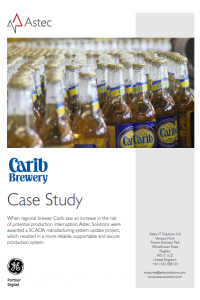 Carib Brewery case study cover2
