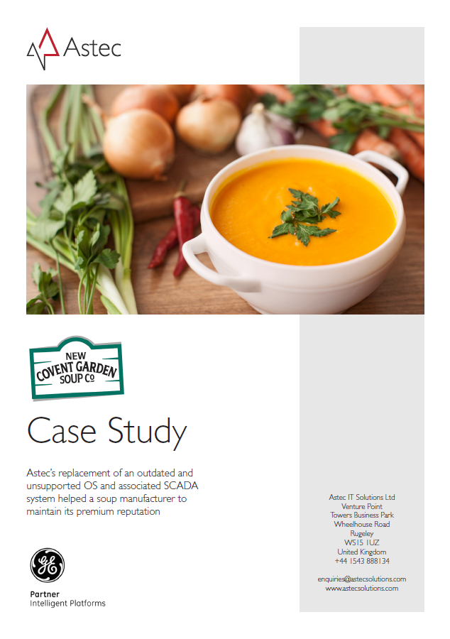New Covent Garden Soup Co case study