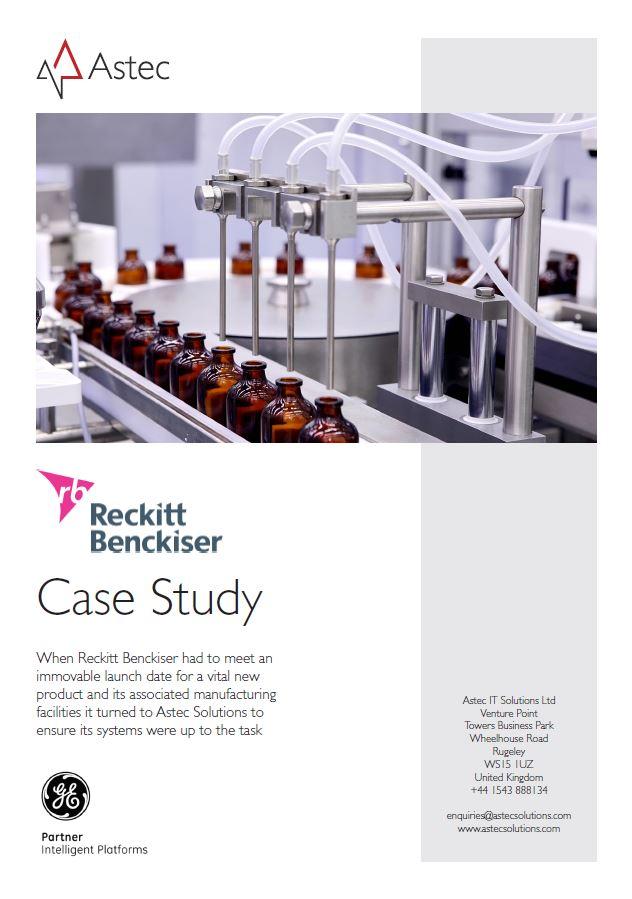 Reckitt Benckiser 2016 case study