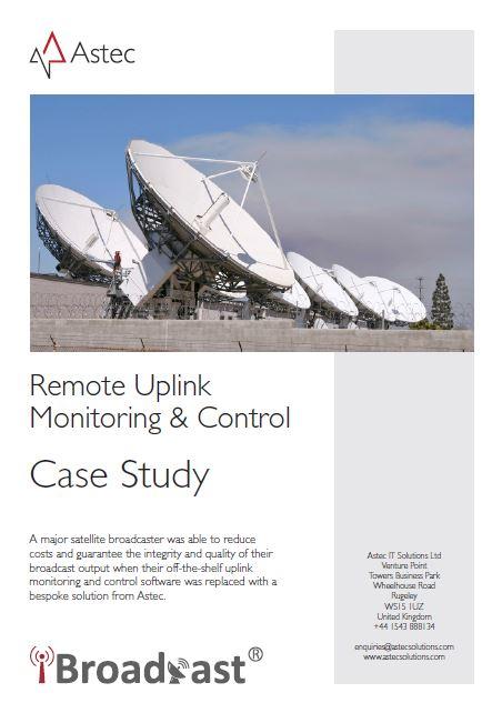 Remote Uplink Monitoring & Control