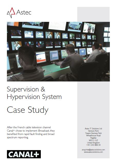 Canal+: Supervision & Hypervision