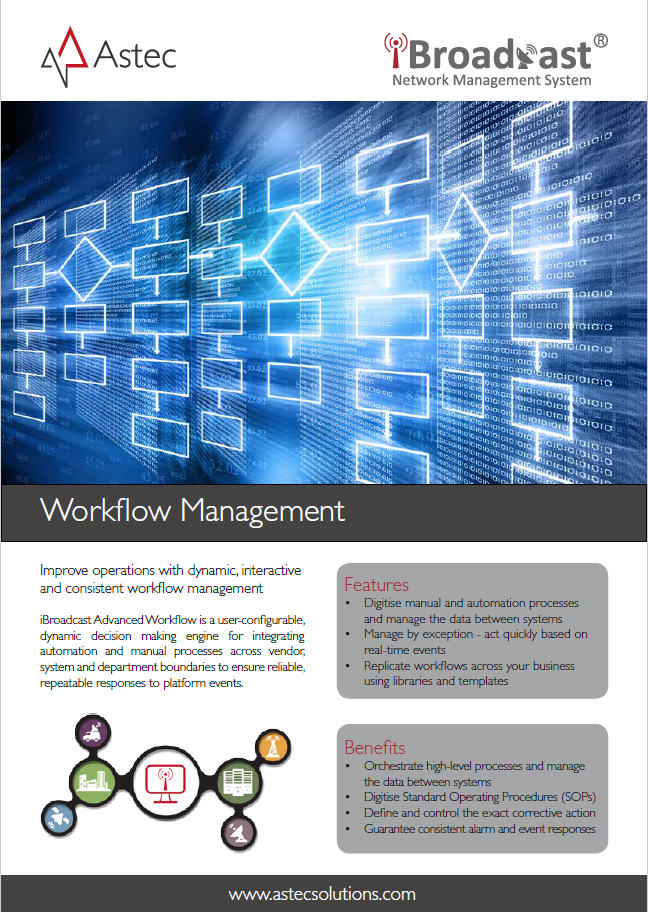 Workflow Management Data Sheet