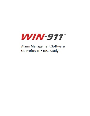 WIN911 Alarm Management iFIX case study – Nestle