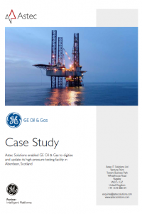 GE Oil & Gas Case Study cover