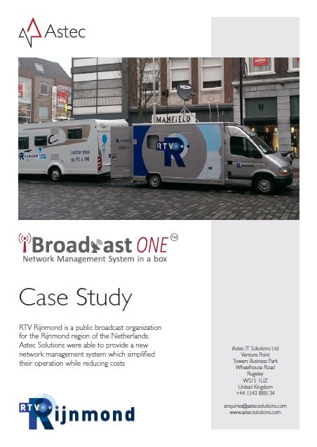 RTV Rijnmond: iBroadcast ONE