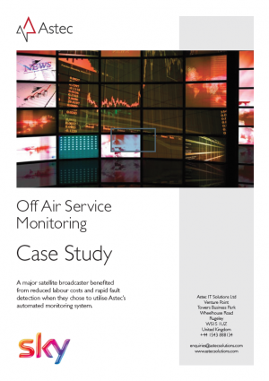 Sky: Off Air Service Monitoring