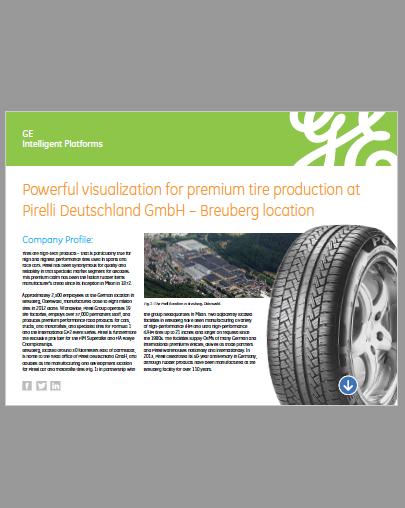 GE iFIX Case Study – Pirelli Tyres