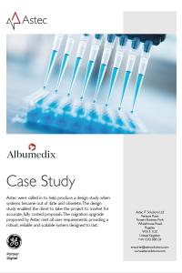 Albumedix case study cover