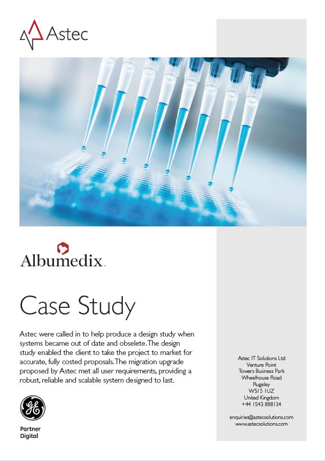 Albumedix case study