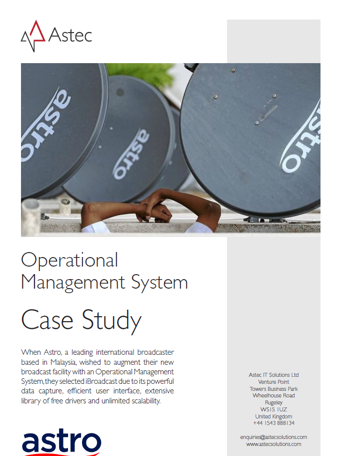Astro Operational Management System