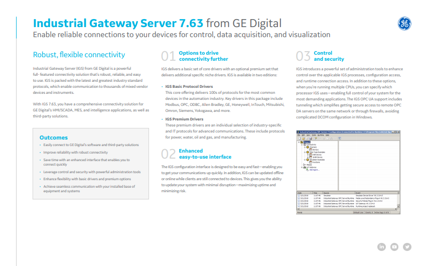 GE Digital - IGS