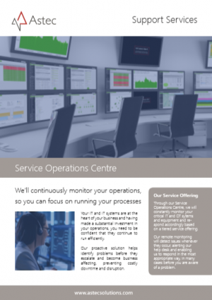 Service Operations Centre